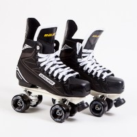 CUSTOM - Bauer Supreme S140 Quad Roller Skates - Probe/Rock Plate